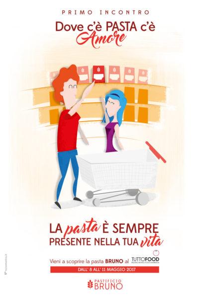 Profumo di Puglia al Tuttofood 2017: dall'8 all'11 maggio 2017 il Pastificio Bruno porta l'amore per la pasta in fiera